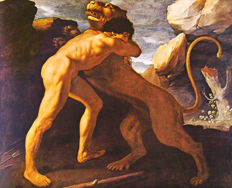 ercole e il leone
