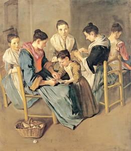 G. Ceruti, Donne che lavorano