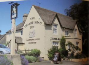 The Thames Head Inn, pub con qualche stanza alla sorgente