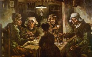 """Van Gogh, """"Mangiatori di patate"""""""