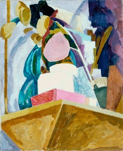 Still Life on Corner of a Mantelpiece 1914 Vanessa Bell 1879-1961 Purchased 1969 http://www.tate.org.uk/art/work/T01133