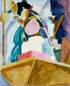 Still Life on Corner of a Mantelpiece 1914 Vanessa Bell 1879-1961 Purchased 1969 http://www.tate.org.uk/art/work/T01133