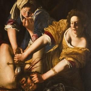 """Artemisia Gentileschi, """"Giuditta che decapita Oloferne"""""""