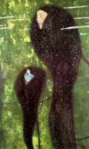 Gustav Klimt, Sirene, 1889