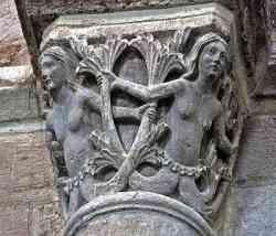 Sirene, tarda età pagana