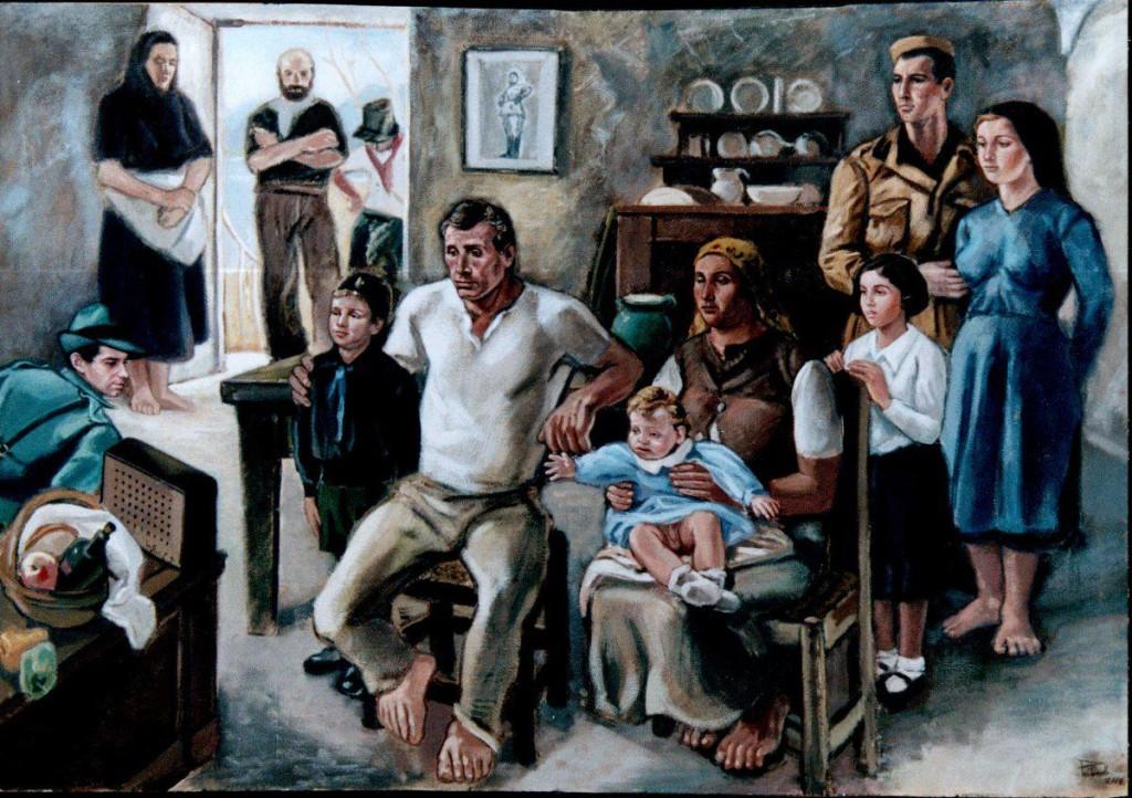 """Luciano Ricchetti  """"In ascolto"""" ,1939"""