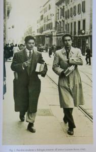 Pasolini studente con l'amico Luciano Serra, 1943