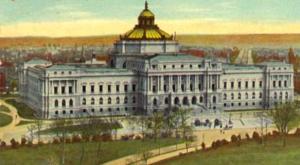 La Biblioteca del Congresso degli Stati Uniti agli inizi del '900