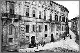 Palazzo Leopardi nell'Ottocento