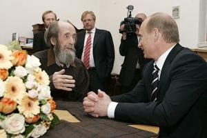 Solgenitsin e Putin