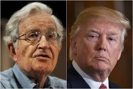 Chomsky e Trump: eloquenza della fisiognomica