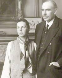 Keynes e la moglie  Ljdia Lopuchova