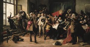 Karel Svoboda,  1844, Defenestrazione di Praga